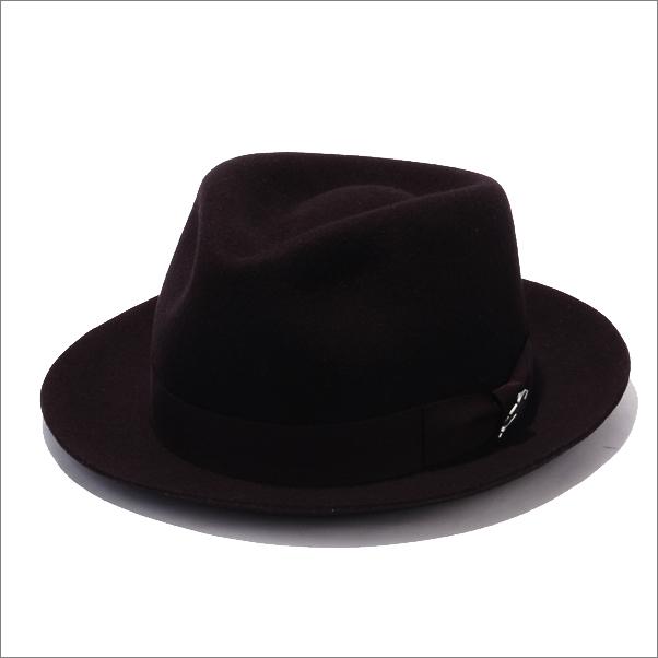 画像1: RUDE GALLERY BLACK REBEL  FEDORA HAT TYPE-B WOOL -STETSON COLLABORATION- (1)