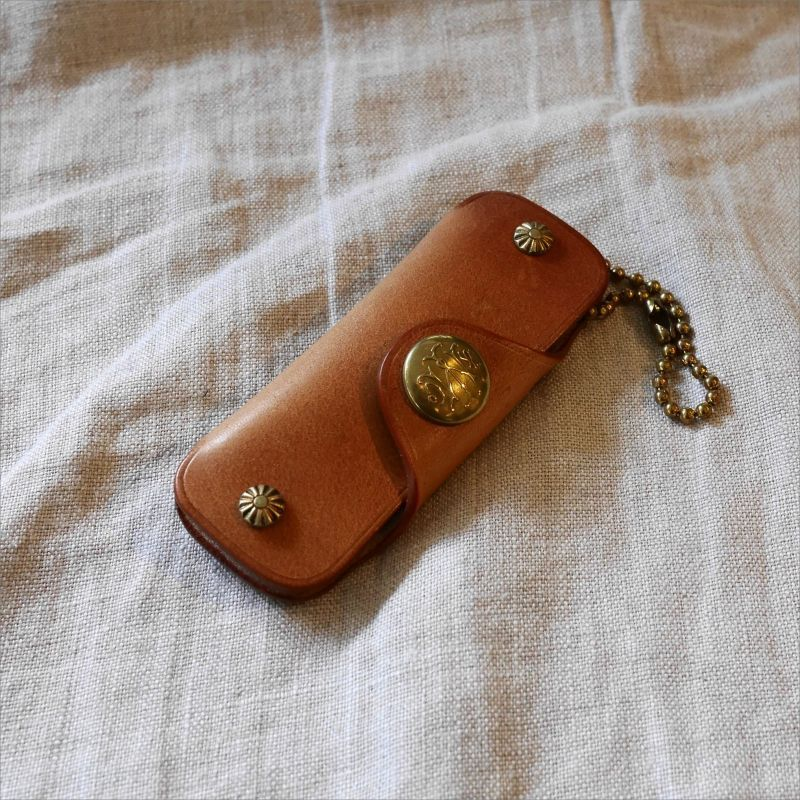 画像1: METAL JACKET  SHELL KEY CASE TYPE-1  (1)