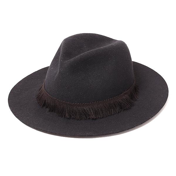 画像1: RUDE GALLERY  FRINGE FELT HAT (1)