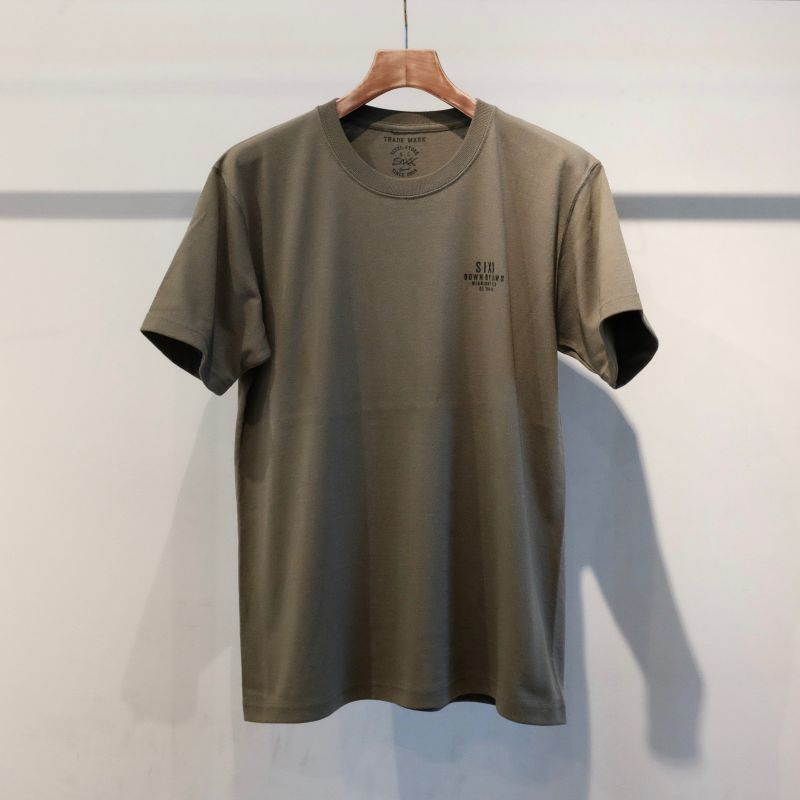 画像1: SIXX ORIGINAL CLOTHING CREW NECK T-SHIRT (1)