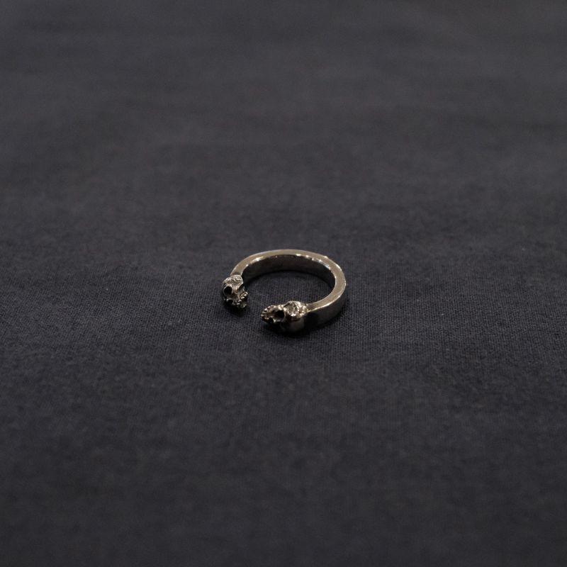 画像1: Amy Rucon  Two Skull Ring (1)