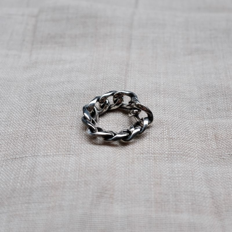 画像1: ARGENT GLEAM CLASSIC  CHAIN RING (1)