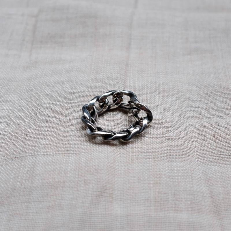 画像1: ARGENT GLEAM CLASSIC  CHAIN RING (1)