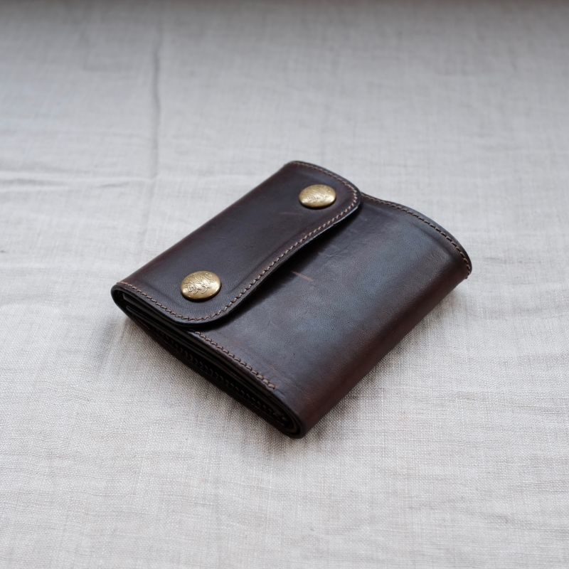 画像1: METAL JACKET  TRUCKERS MIDDLE WALLET (1)
