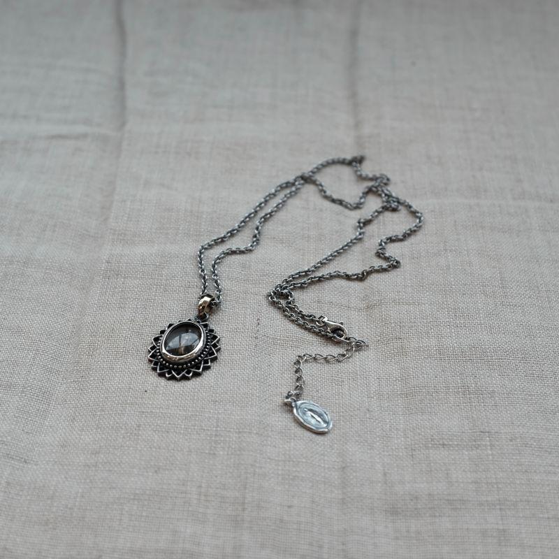 画像1: ARGENT GLEAM  MARIA NECKLACE (1)